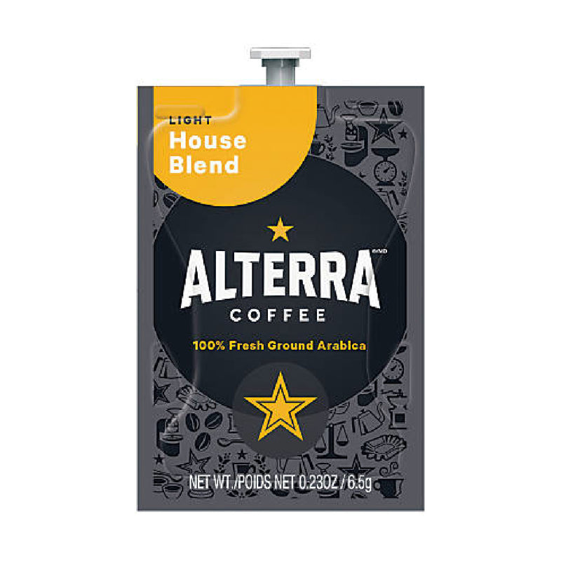 Flavia Alterra House Blend Light Roast Coffee Freshpacks (Case of 100)