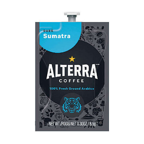 Flavia Alterra Sumatra Dark Roast Coffee Freshpacks (Case of 100)