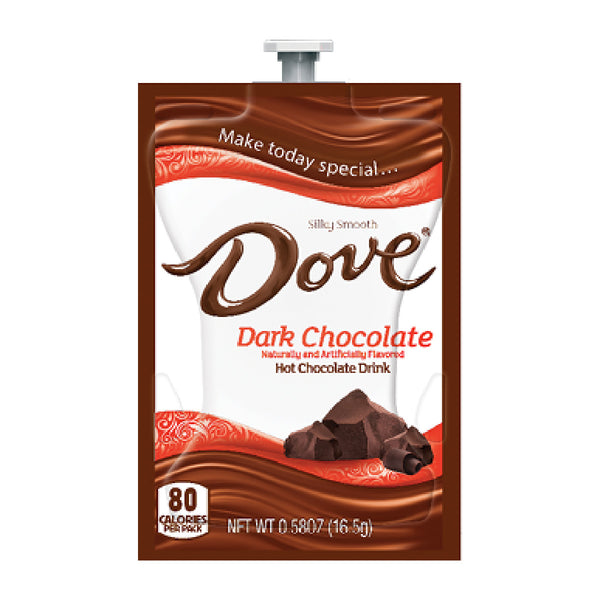 Flavia Dove® Dark Hot Chocolate Freshpacks (Case of 72)