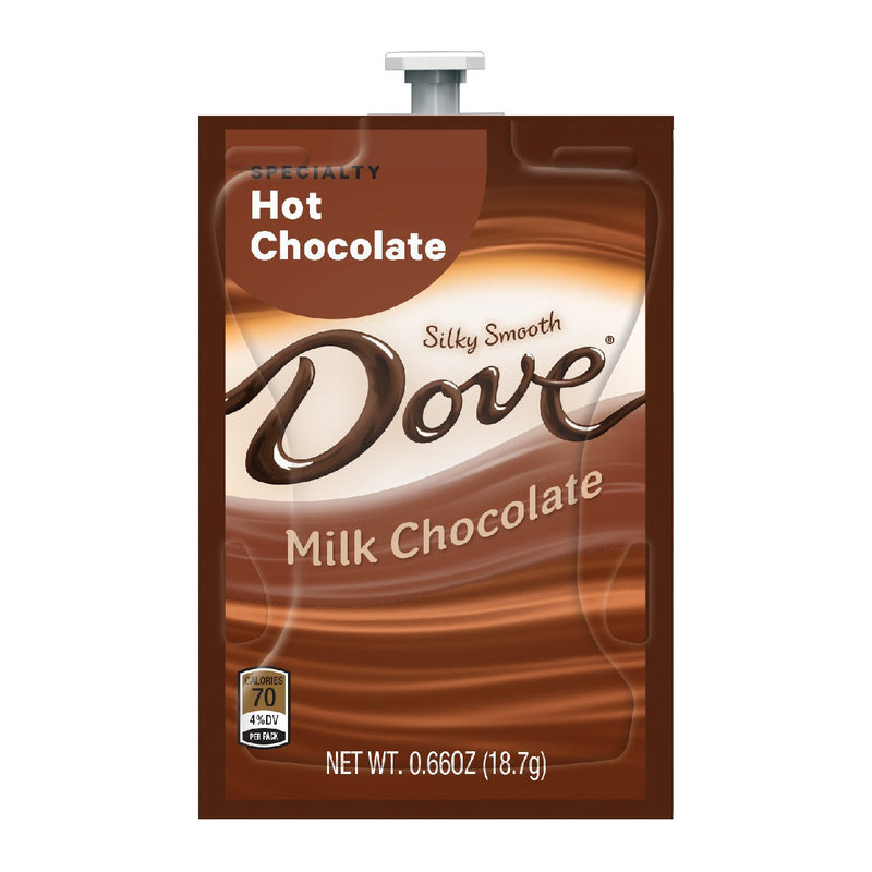 Flavia Dove® Milk Hot Chocolate Freshpacks (Case of 72)