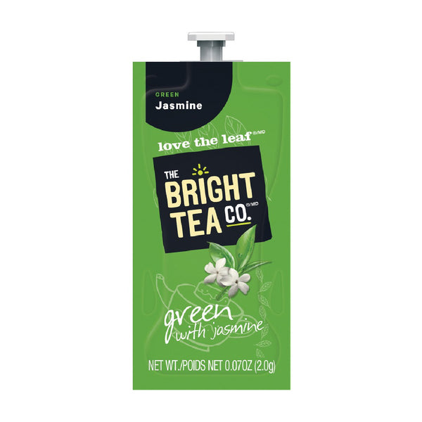 Flavia The Bright Tea Co. Green with Jasmine Freshpacks (Case of 100)