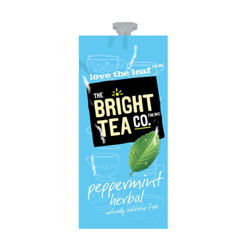 Flavia The Bright Tea Co. Peppermint Herbal Freshpacks (Case of 100)