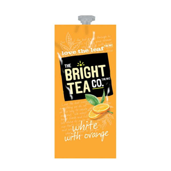 Flavia The Bright Tea Co. White with Orange Freshpacks (Case of 100)