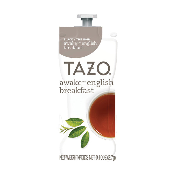 Flavia TAZO Awake English Breakfast Tea Freshpacks (Case of 80)