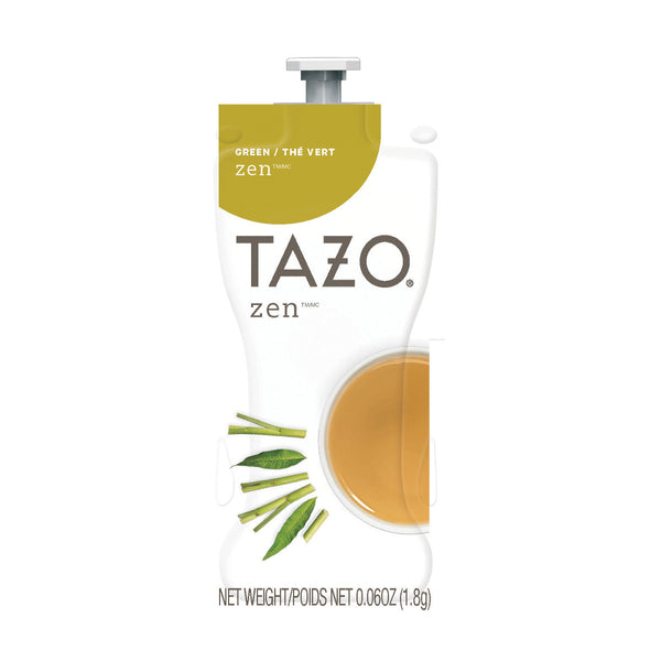 Flavia TAZO Zen Green Tea Freshpacks (Case of 80)