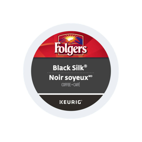 Folgers Gourmet Selections Black Silk K-Cup® Recyclable Pods (Box of 24)