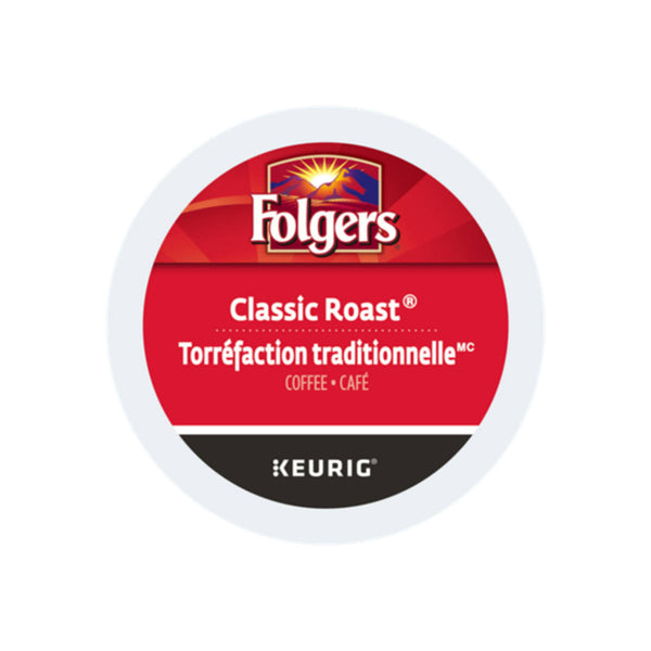 Folgers Gourmet Selections Classic Roast K-Cup® Pods (Case of 96)