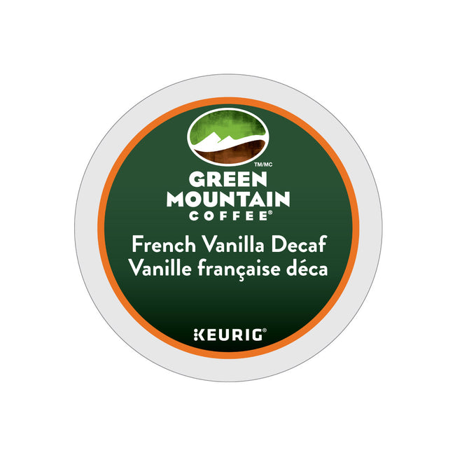 Green Mountain Decaf French Vanilla K-Cup® Pods (Case of 96)