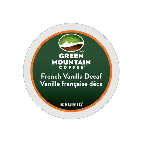 * SALE * Green Mountain Decaf French Vanilla K-Cup® Pods (Case of 96)