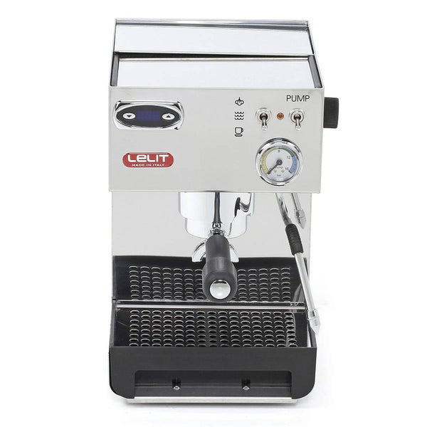 Lelit Anna 2 PL41TEM Espresso Machine with PID (Silver Stainless Steel)