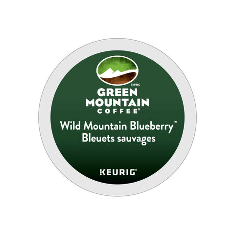 * SALE * Green Mountain Fair Trade Wild Mountain Blueberry K-Cup® Pods (Case of 96)