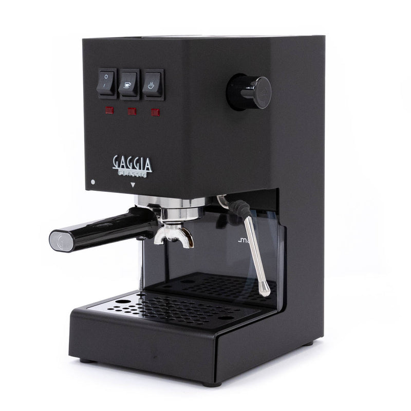 Gaggia Classic Pro Espresso Machine Thunder Black Right Side