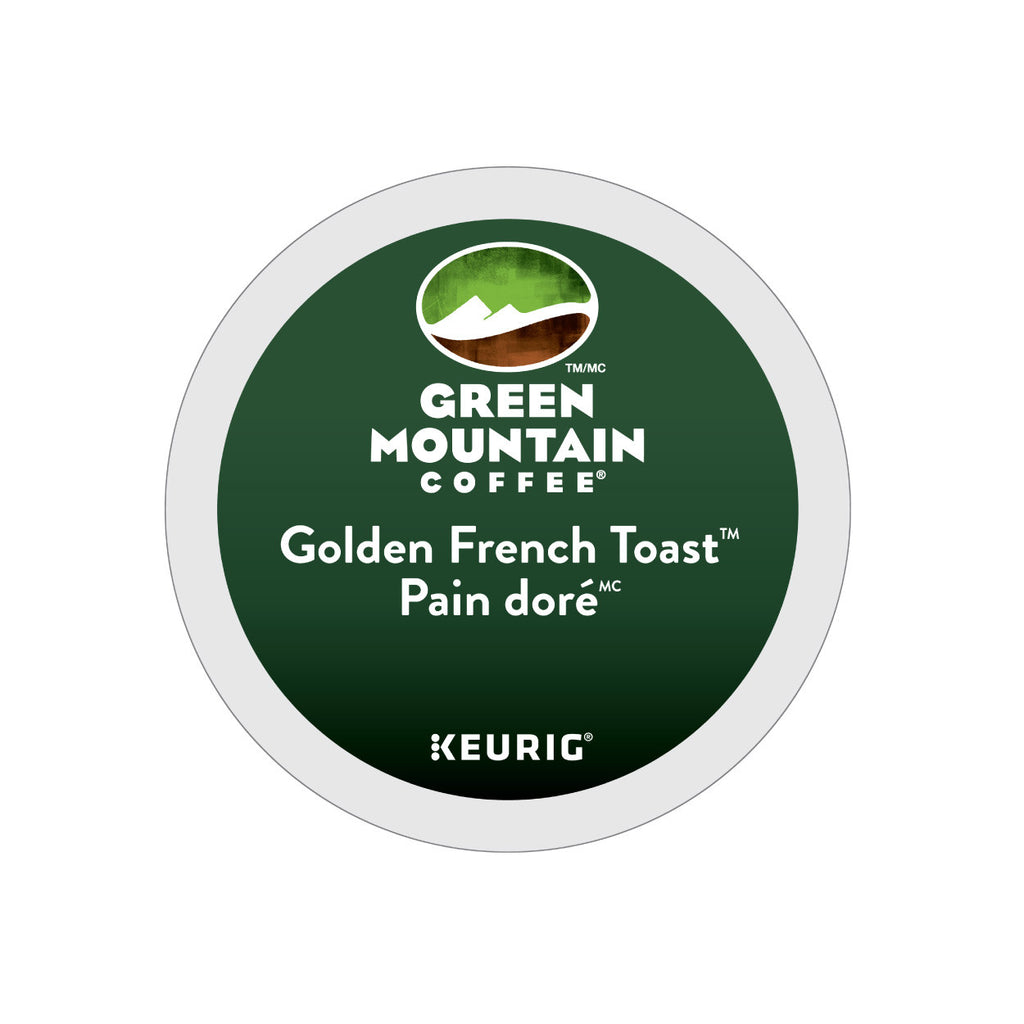 Green Mountain Golden French Toast K-Cup® Pods (Case of 96)
