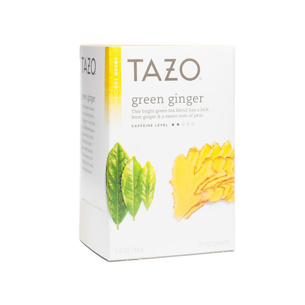 Tazo Green Ginger Bags