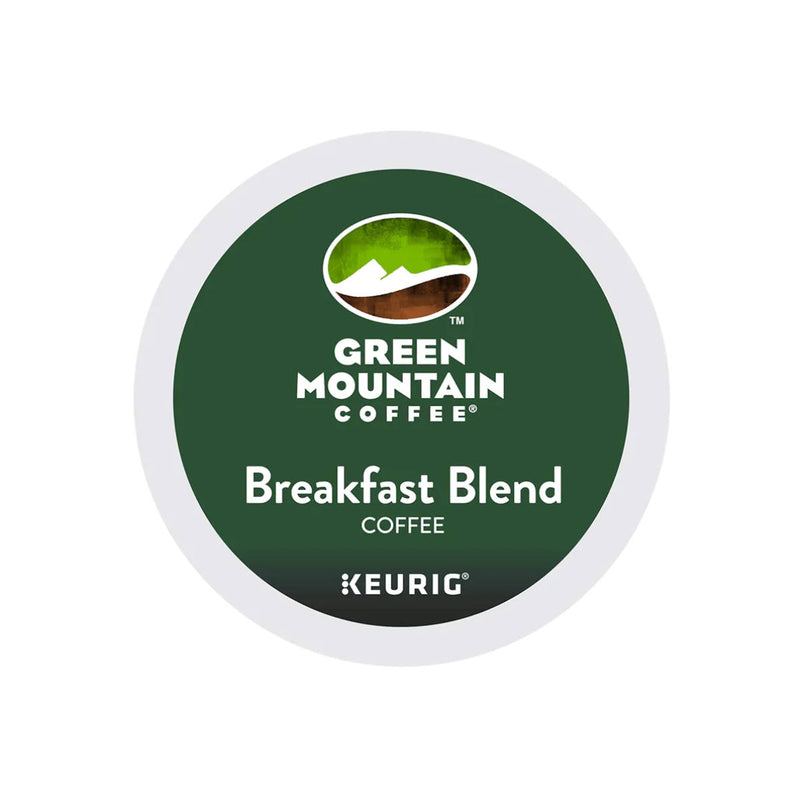 Green Mountain Breakfast Blend K-Cup® Recyclable Pods (Case of 96)