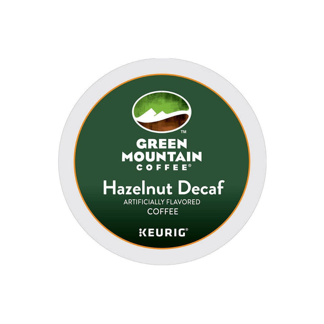 Green Mountain Decaf Hazelnut K-Cup® Recyclable Pods (Box of 24)