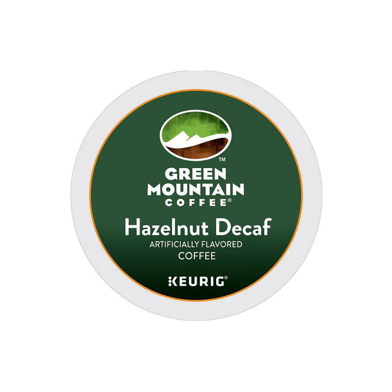 Green Mountain Decaf Hazelnut K-Cup® Recyclable Pods (Case of 96)