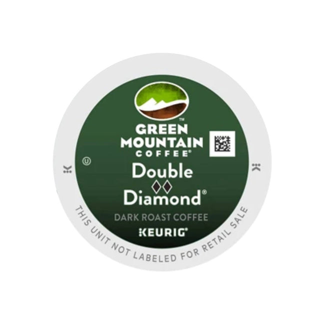 Green Mountain Double Black Diamond K-Cup® Recyclable Pods (Case of 96)