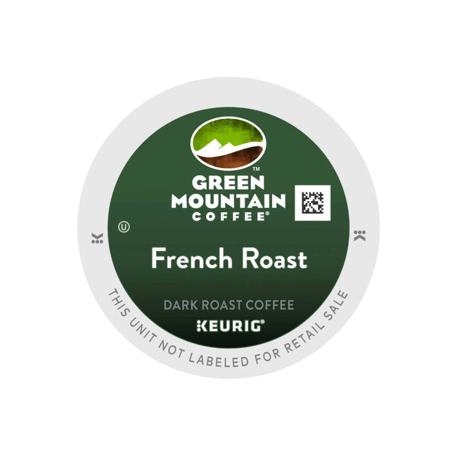 Green Mountain French Roast K-Cup® Recyclable Pods (Case of 96)
