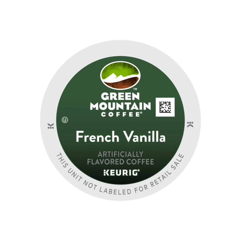 Green Mountain French Vanilla K-Cup® Recyclable Pods (Case of 96)