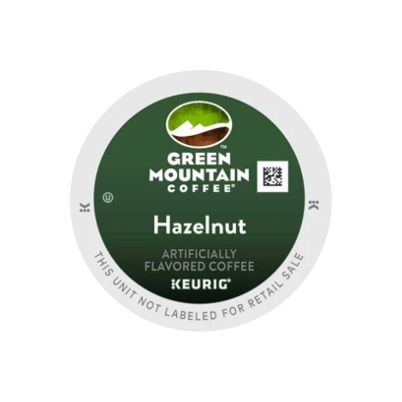 Green Mountain Hazelnut K-Cup® Recyclable Pods (Case of 96)