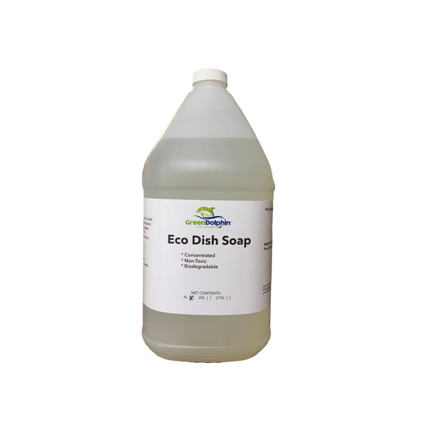 Green Dolphin Eco-Friendly Dish Soap 4L