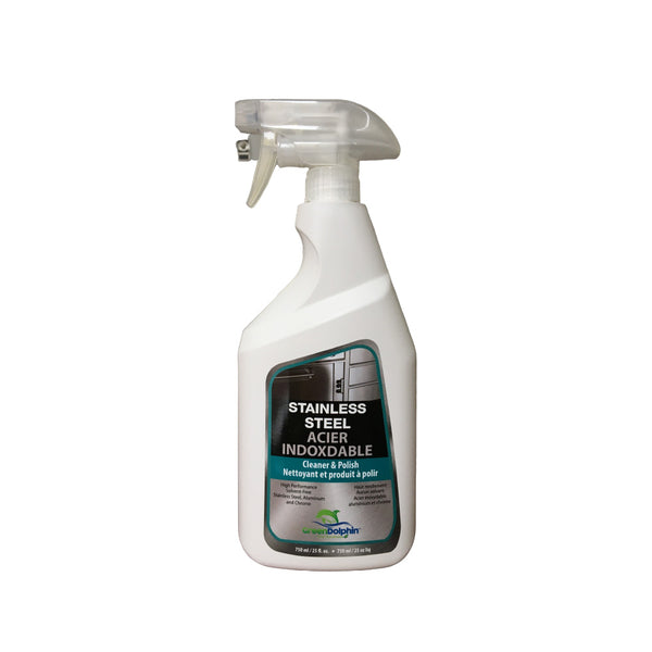Green Dolphin Stainless Steel Cleaner & Polish 750ml
