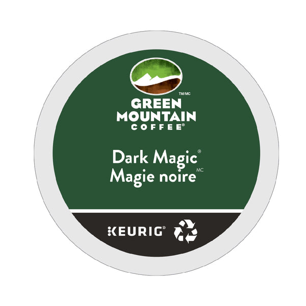 Green Mountain Dark Magic K-Cup® Recyclable Pods (Box of 24)