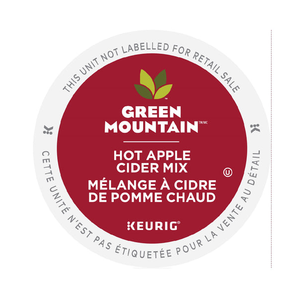 Green Mountain Apple Cider K-Cup® Recyclable Pods (Case of 96)