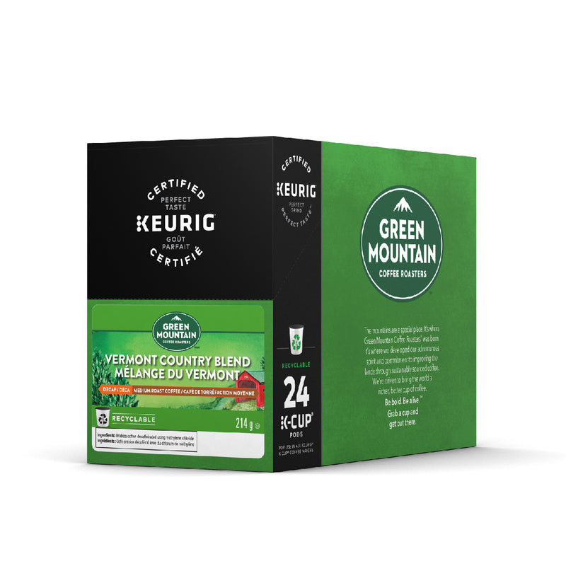 Green Mountain Vermont Country Blend K-Cup® Recyclable Pods (Case of 96)