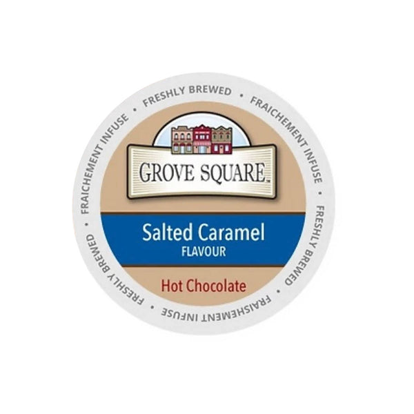 Grove Square Salted Caramel Hot Chocolate Single Serve Pods (Case of 96)