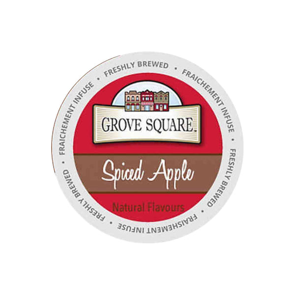 Grove Square Spiced Apple Cider Single Serve Pods (Box of 24)