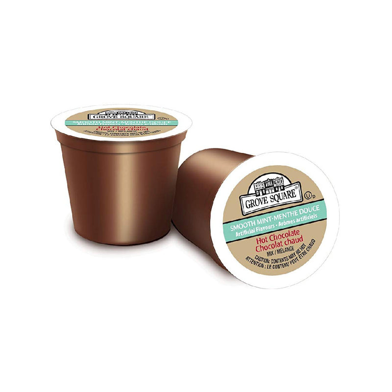 Grove Square Mint Hot Chocolate Single Serve Pods (Case of 96)