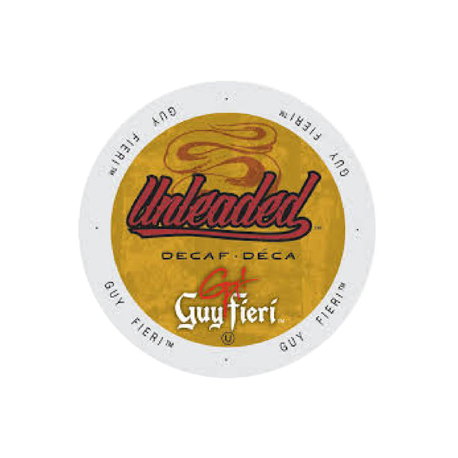 Guy Fieri Unleaded Decaf Single-Serve Coffee Pods (Case of 96)