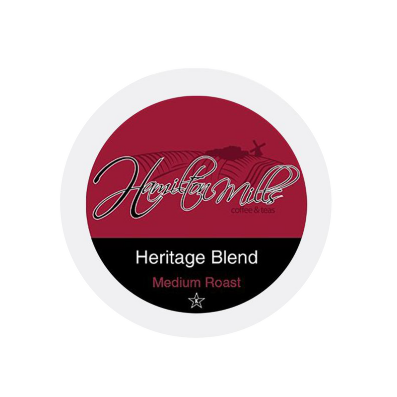 Hamilton Mills Heritage Blend Single-Serve Coffee Pods (Box of 24)