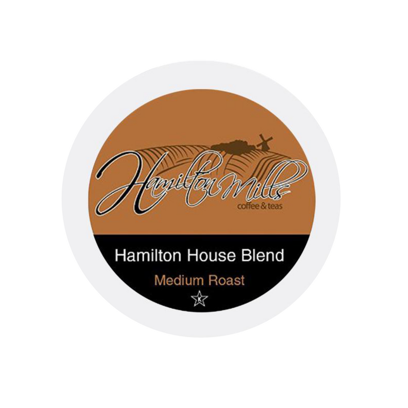 Hamilton Mills House Blend Single-Serve Coffee Pods (Box of 24)