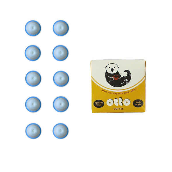 Hatch Otto Classic Coffee Capsules - Compatible with Nespresso® Original Machines (Box of 10)
