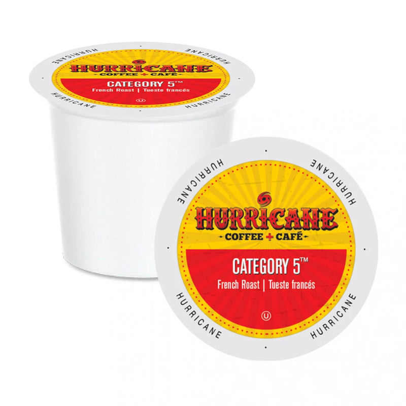 Hurricane Coffee Category 5 Single-Serve Pods (Box of 24)