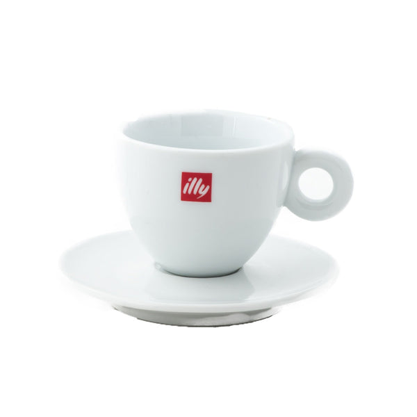 Illy Cappuccino Cups & Saucers (Set of 12)