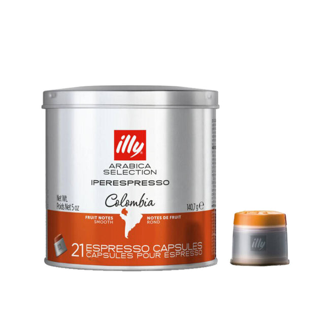 Illy Iperespresso Colombia Arabica Selection Espresso Capsules (21 Ct. Tin)