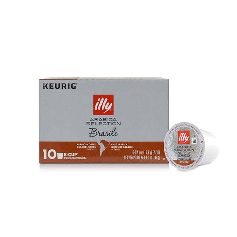 Illy Arabica Selection Brasile K-Cup® Pods (Box of 10)