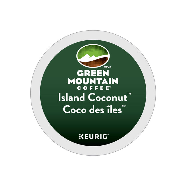Green Mountain Island Coconut K-Cup® Recyclable Pods (Box of 24)