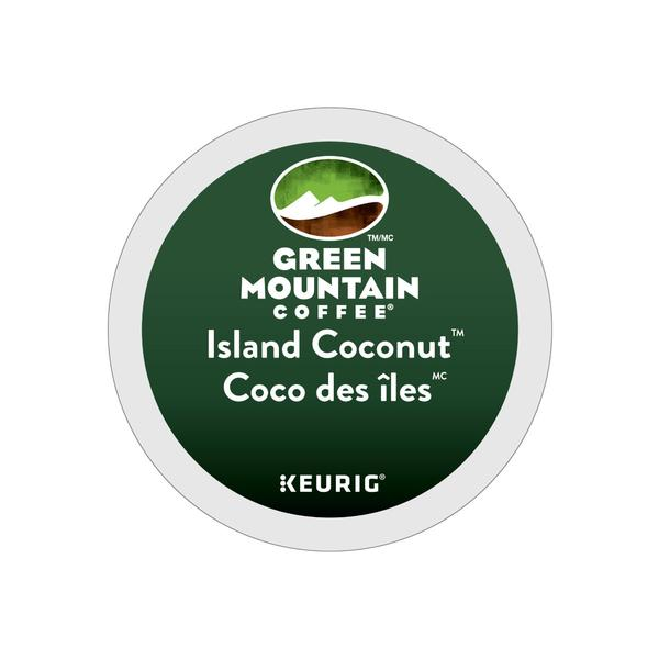 Green Mountain Island Coconut K-Cup® Recyclable Pods (Case of 96)