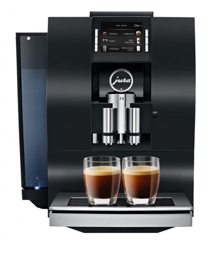 Jura Z6 Black Aluminum Super Automatic Coffee & Espresso Machine