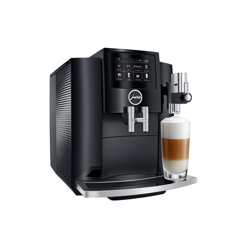 Jura S8 Super Automatic Coffee & Espresso Machine (Piano Black)