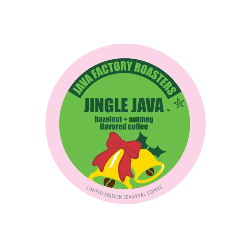 * SEASONAL * Java Factory Jingle Java Single-Serve Coffee Pods (Box of 24)