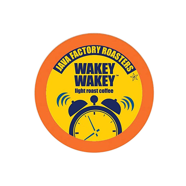 Java Factory Wakey Wakey Single-Serve Coffee Pods (Box of 24)