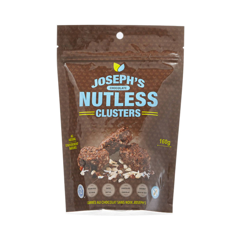 Joseph's Chocolate Nutless Clusters 160g (Case of 12 Bags)