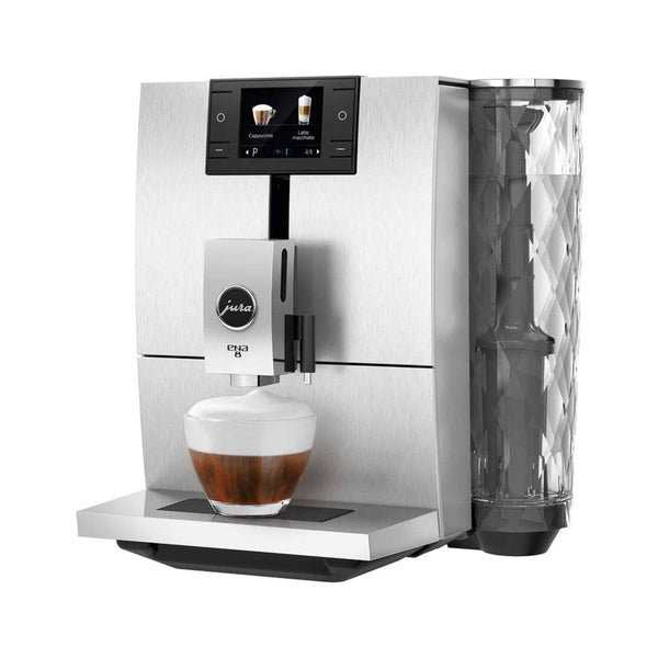 Jura ENA 8 Super Automatic Coffee & Espresso Machine (Massive Aluminum)