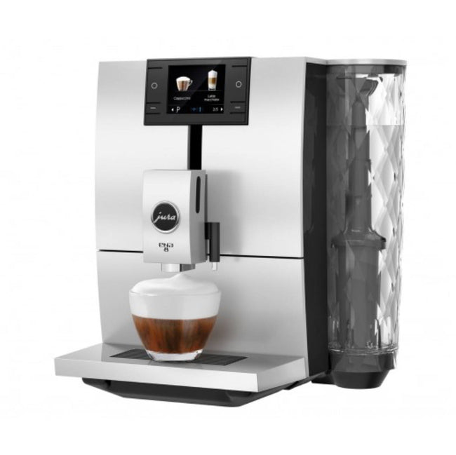 Jura ENA 8 Super Automatic Coffee & Espresso Machine (Metropolitan Black)